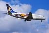 """VH-CZT Boeing 737-33A c/n 27454 Sydney-Kingsford Smith/YSSY/SYD 02-05-99 """"Olly, Millie, Syd 2000 Olympics"""" (35mm slide)"""