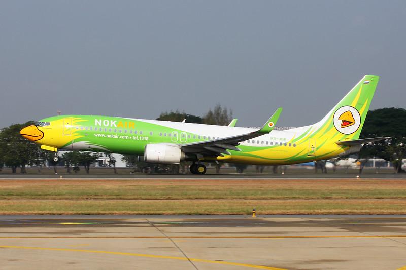 HS-DBR Boeing 737-86N c/n 43420 Bangkok-Don Mueang/VTBD/DMK 09-01-16