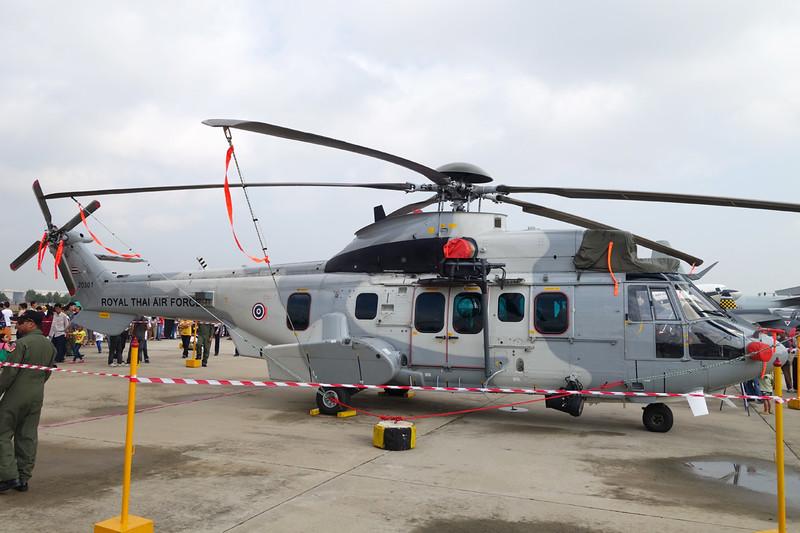 "B.H11-1/58 (20301) Eurocopter EC-725 ""Royal Thai Air Force""  c/n unknown Bangkok-Don Mueang/VTBD/DMK 09-01-16"