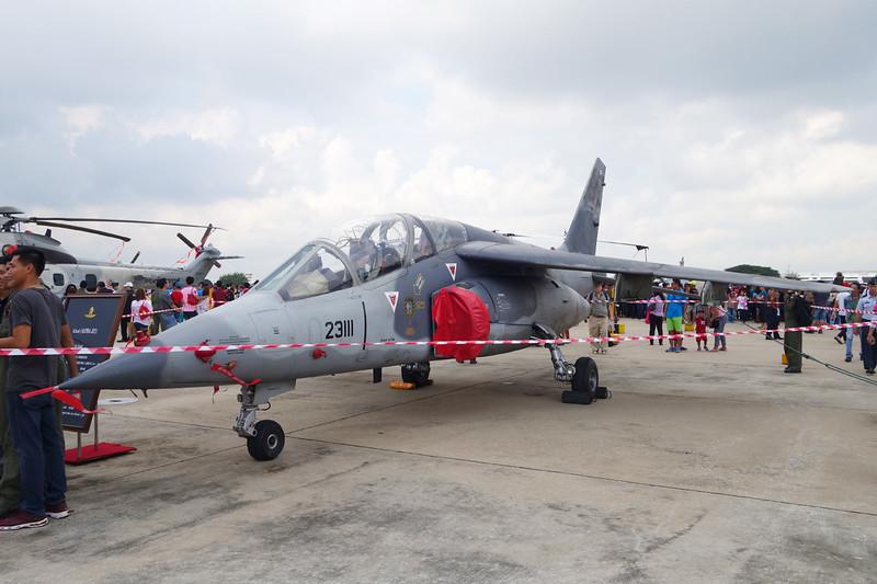 "B.J7-1/43 (23111) Dassault-Breguet-Dornier Alpha-Jet A ""Royal Thai Air Force""  c/n 0149 Bangkok-Don Mueang/VTBD/DMK 09-01-16"