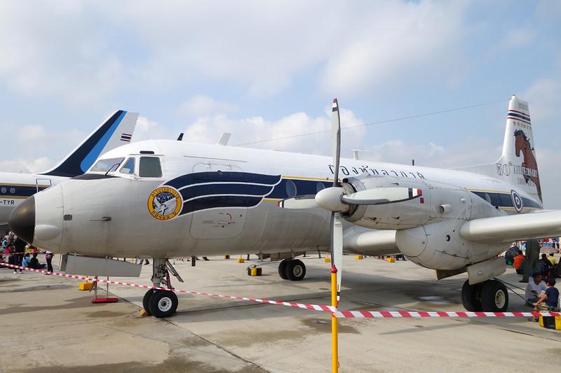 "B.L5-3/26 (60303) Avro 748 2/207 ""Royal Thai Air Force"" c/n 1569 Bangkok-Don Mueang/VTBD/DMK 09-01-16"
