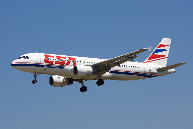 OK-MEH Airbus A320-214 c/n 3031 Barcelona-El Prat/LEBL/BCN 29-06-08