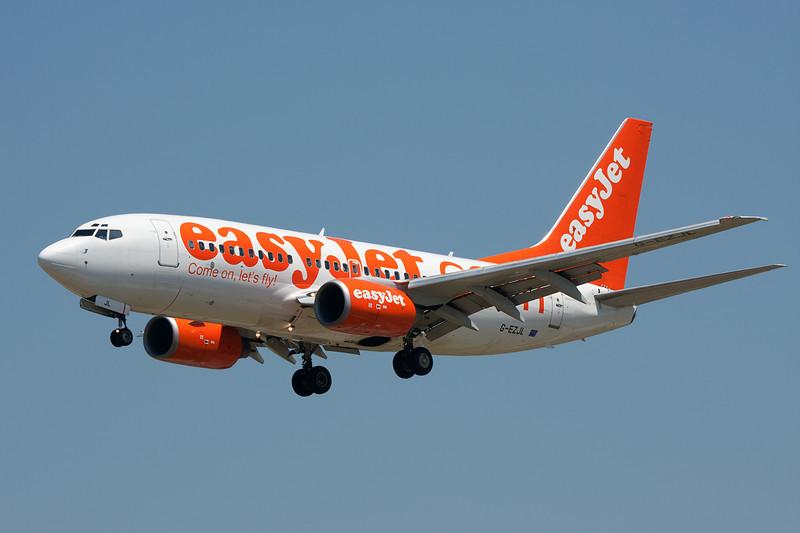 G-EZJL Boeing 737-73V c/n 30247 Barcelona-El Prat/LEBL/BCN 29-06-08