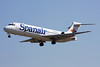 EC-KNE Boeing 717-23S c/n 55064 Barcelona-El Prat/LEBL/BCN 29-06-08