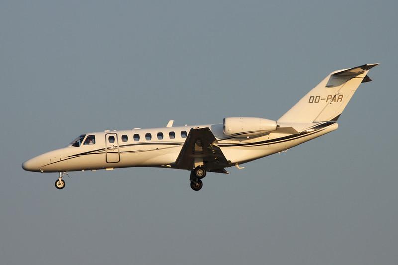OO-PAR Cessna 525B CitationJet 3 c/n 525B-0287 Brussels/EBBR/BRU 17-03-16