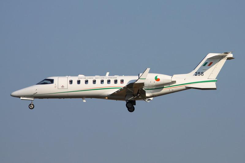 "258 Learjet  45 ""Irish Air Corps"" c/n 45-234 Brussels/EBBRR/BRU 17-03-16"