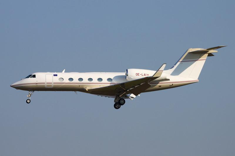 OE-LAI Gulfstream G450 c/n 4237 Brussels/EBBR/BRU 17-03-16