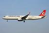 TC-JSE Airbus A321-231 c/n 5450 Brussels/EBBR/BRU 26-03-17