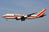"""N741CK Boeing 747-4H6BCF """"Kalitta Air"""" c/n 24315 Brussels/EBBR/BRU 26-03-17"""