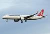 TC-LTA Airbus A321-271NX c/n 9567 Brussels/EBBR/BRU 19-12-20