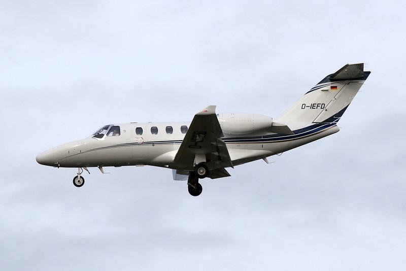 D-IEFD Cessna 525 Citation M2 c/n 525-0968 Brussels/EBBR/BRU 19-12-20