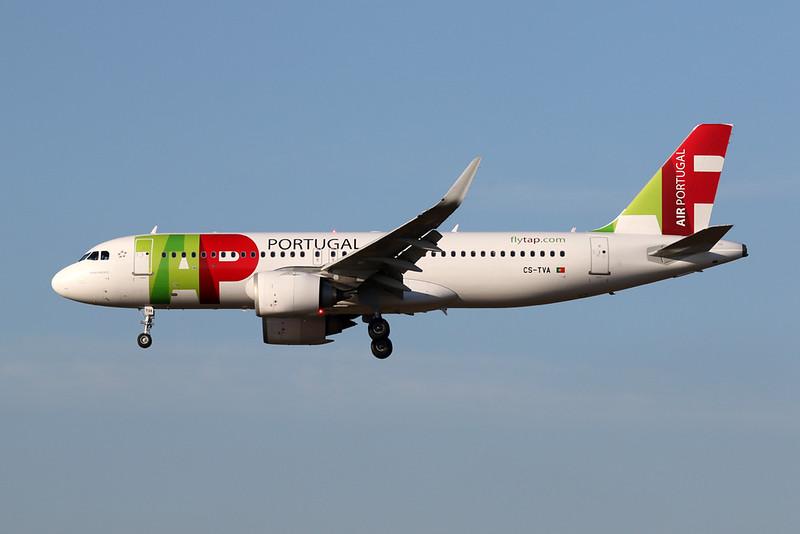 CS-TVA Airbus A320-215N c/n 8043 Brussels/EBBR/BRU 05-10-20