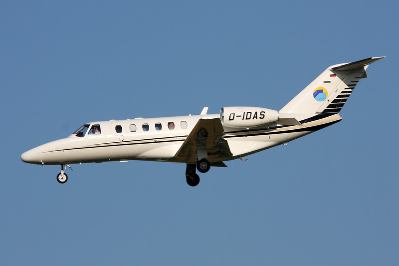 D-IDAS Cessna 525A CitationJet 2+ c/n 525A-0443 Brussels/EBBR/BRU 07-07-13