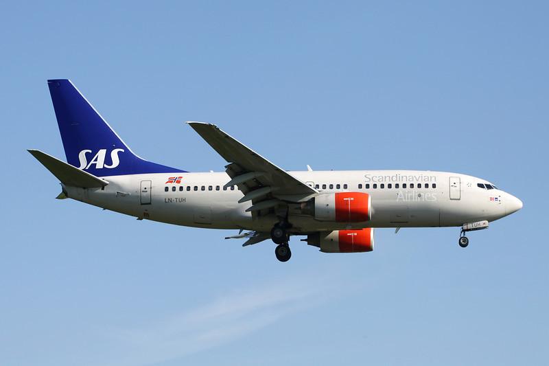 LN-TUH Boeing 737-705 c/n 29093 Brussels/EBBR/BRU 27-05-13