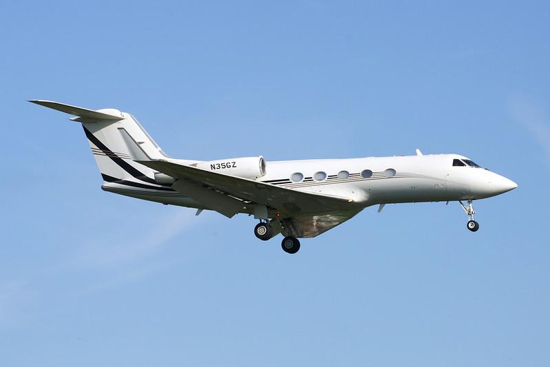 N35GZ Gulfstream G3 c/n 465 Brussels/EBBR/BRU 27-05-13