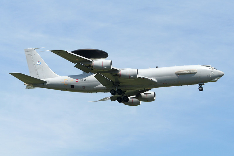 "201 (36-CA) Boeing E-3F Sentry ""French Air Force"" c/n 24115 Cambrai/LFQI/XCB 02-07-06"