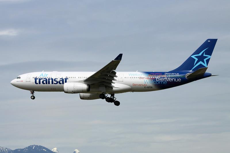 "C-GTSI Airbus A330-243 ""Air Transat"" c/n 427 Vancouver/CYVR/YVR 29-04-14"