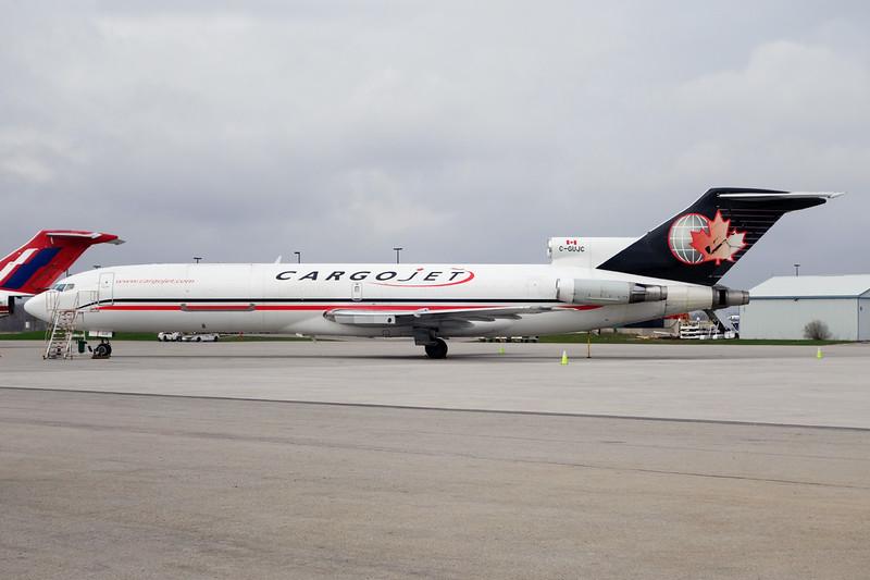 """C-GUJC Boeing  727-260 """"CargoJet Airways"""" c/n 21979 Hamilton/CYHM/YHM 03-05-14"""