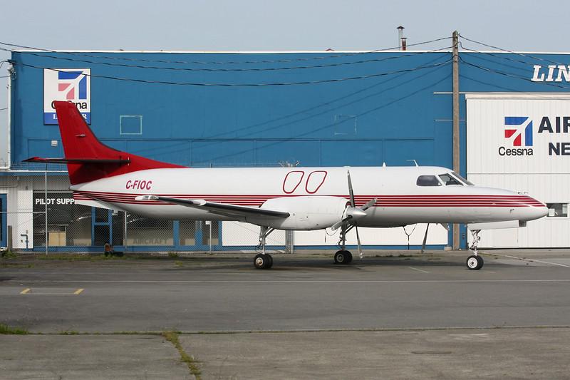 "C-FIOC Swearingen SA.227AC Metro III ""Orca Airways"" c/n AC-632 Vancouver/CYVR/YVR 30-04-14"