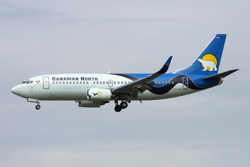 """C-GCNU Boeing 737-36Qwl """"Canadian North"""" c/n 29140 Vancouver/CYVR/YVR 29-04-14"""