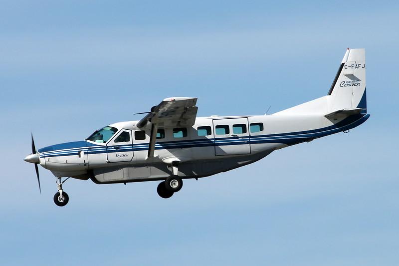 C-FAFJ Cessna 208B Caravan c/n 208B-0641 Vancouver/CYVR/YVR 30-04-14