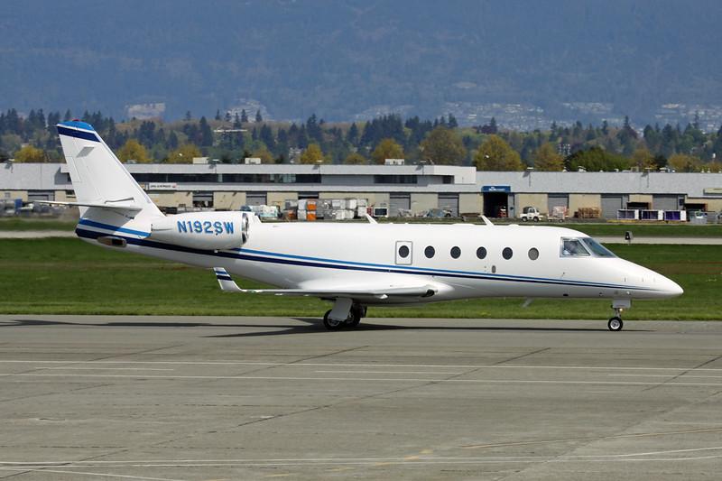 N192SW IAI Gulfstream 150 c/n 216 Vancouver/CYVR/YVR 30-04-14