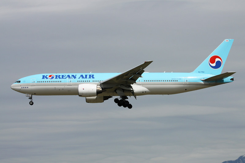 HL7751 Boeing 777-2B5ER c/n 34210 Vancouver/CYVR/YVR 29-04-14