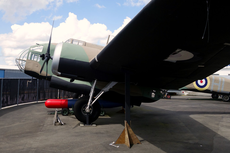 P5436 (HLB) Handley-Page Hampden B.1 c/n FAL/CA/80 Langley/CYNJ 28-04-14