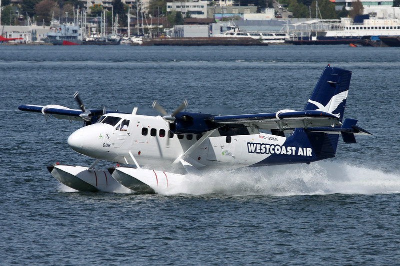 "C-GQKN de Havilland Canada DHC-6-100 Twin Otter ""West Coast Air"" c/n 94 Vancouver-Harbour/CYHC/CXH 30-04-14"