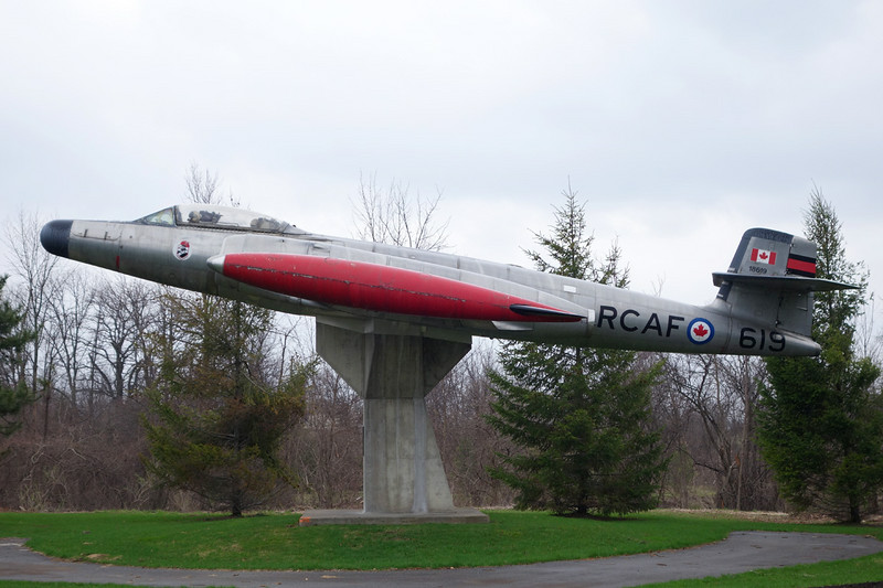 18619 Avro Canada CF-100 Canuck Mk.5 c/n 519 Toronto-Malton 03-05-14