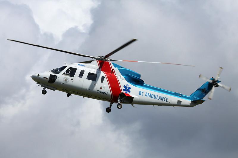 C-GHHJ Sikorsky S-76C c/n 760500 Vancouver/CYVR/YVR 27-04-14