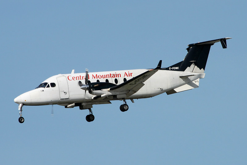 "C-FCME Beech 1900D ""Central Mountain Air"" c/n UE-277 Vancouver/CYVR/YVR 29-04-14"