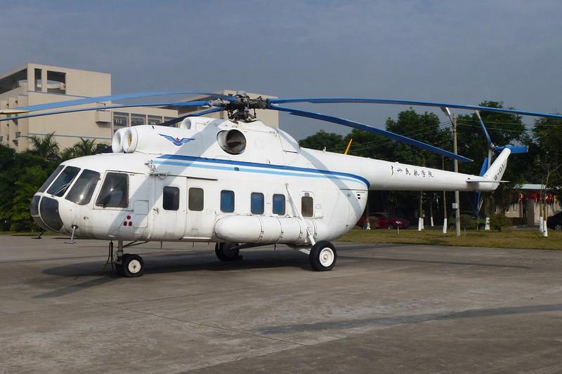 B-7805 (B-01) Mil Mi-8P c/n 20215 Guangzhou/ZGGG/CAN 15-11-12