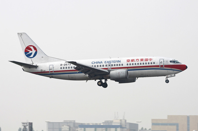 B-2573 Boeing 737-39P c/n 29412 Guangzhou-Baiyun/ZGGG/CAN 14-11-12