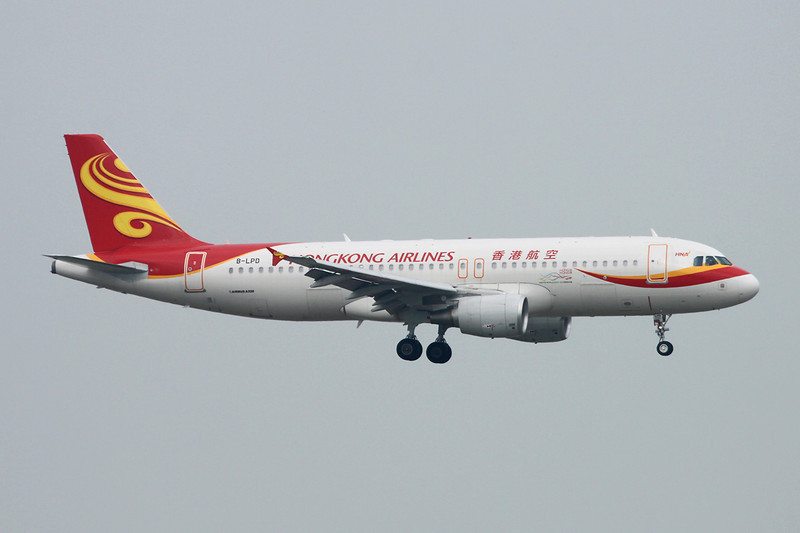 "B-LPD Airbus A320-214 ""Hong Kong Airlines"" c/n 5189 Hong Kong-Chek Lap Kok/VHHH/HKG 20-11-12"