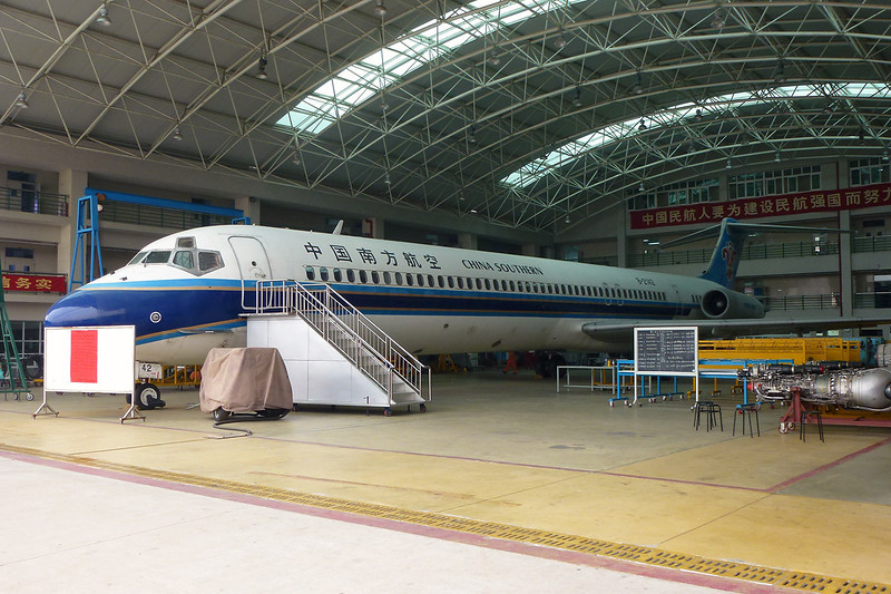"B-2142 Douglas MD-82 ""China Southern Airlines"" c/n 49850 Guangzhou/ZGGG/CAN 15-11-12"