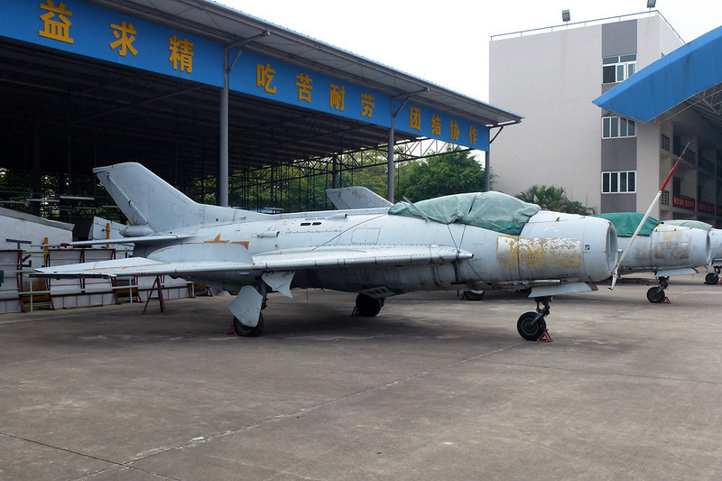"unknown Shenyang J-6 ""PLAAF"" c/n unknown Guangzhou/ZGGG/CAN 15-11-12"