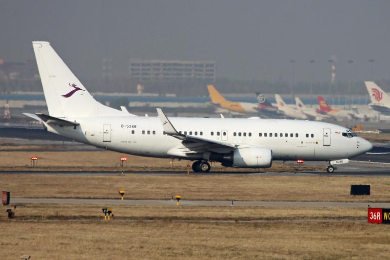 B-5266 Boeing 737-7AK c/n 29866 Beijing-Capital/ZBAA/PEK 08-11-12