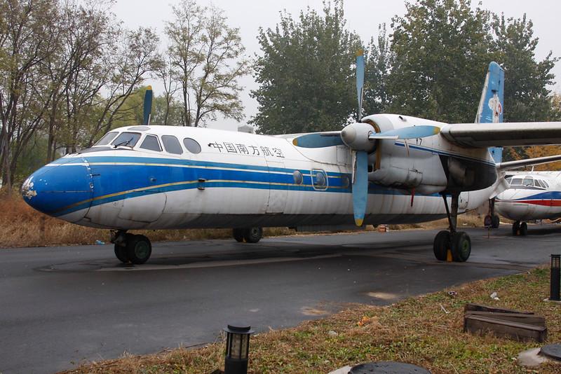 B-3456 Xian Y-7 c/n 03703 Beijing-Xiedao (M) 10-11-12