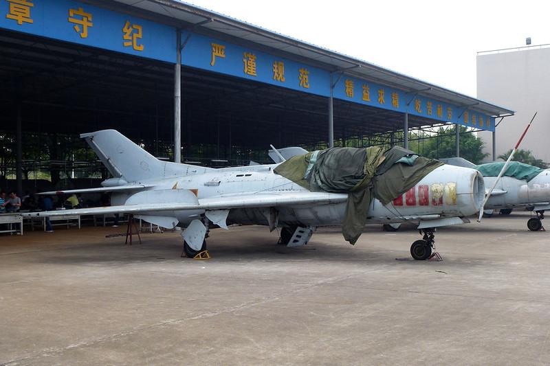 "unknown Shenyang J-6 ""PLAAF"" c/n unknown Guangzhou/ZGGG/CAN 15-11-12"