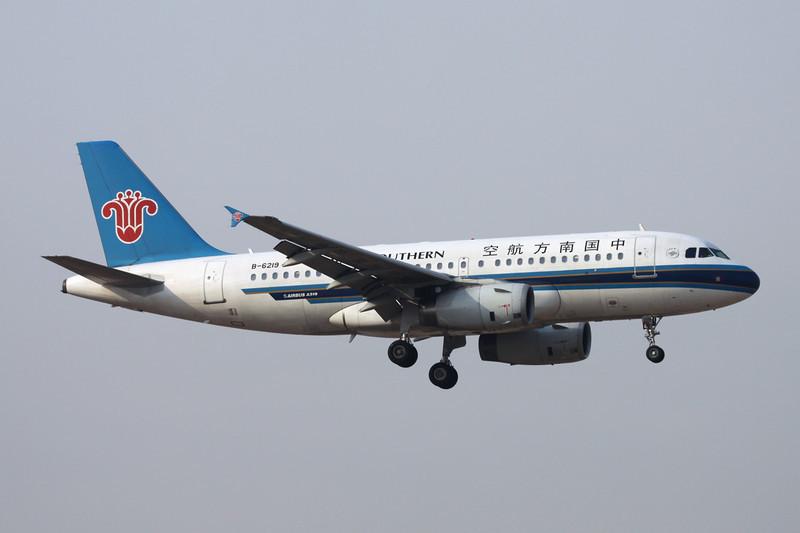 B-6219 Airbus A319-132 c/n 2667 Beijing-Capital/ZBAA/PEK 09-11-12