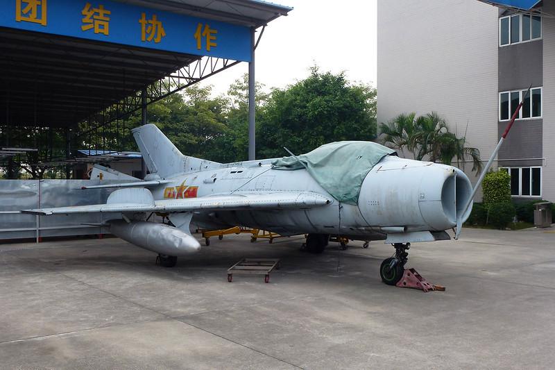 """81088 Shenyang J-6 """"PLAAF"""" c/n 30324 Guangzhou/ZGGG/CAN 15-11-12"""