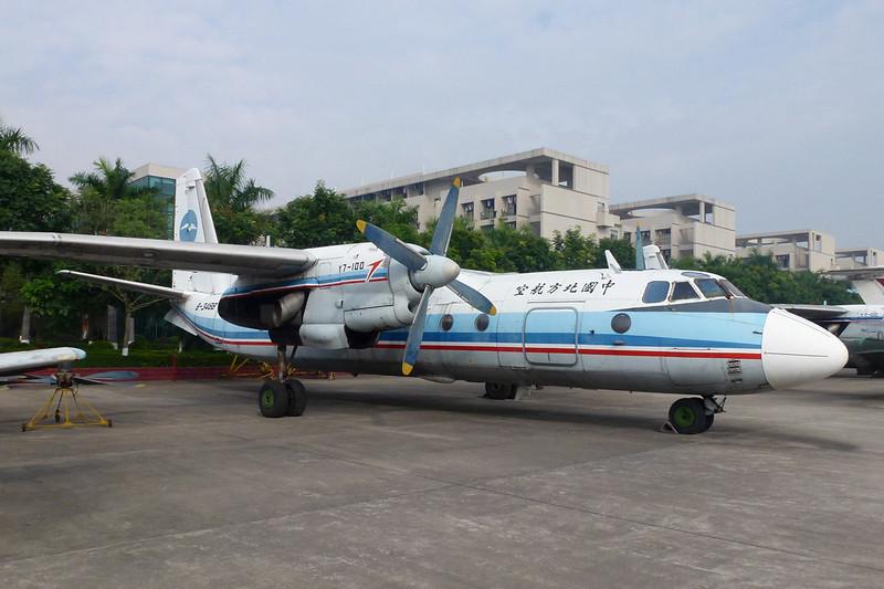 """B-3488 Xian Y-7-100 """"China Northern Airlines"""" c/n 07707 Guangzhou/ZGGG/CAN 15-11-12"""