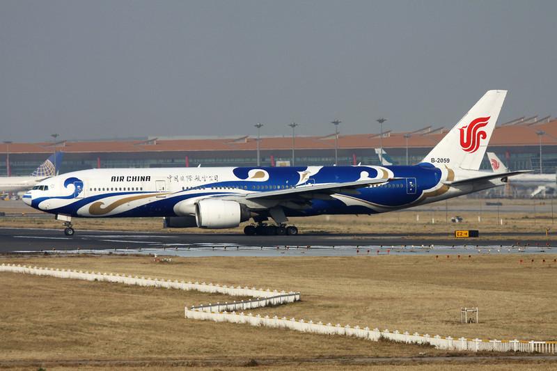 """B-2059 Boeing 777-2J6 c/n 29153 Beijing-Capital/ZBAA/PEK 08-11-12 """"Blue Phoenix"""""""