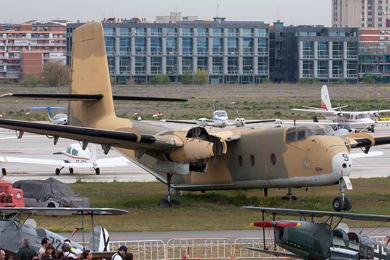 T.9-9 de Havilland Canada DHC-4A Caribou c/n 287 Cuatro Vientos/LECU 06-04-08