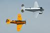 EC-ASJ Beech C-45H Expeditor c/n AF-752 & EC-DUN North American T-6G Texan c/n 197-20 Cuatro Vientos/LECU 06-04-08