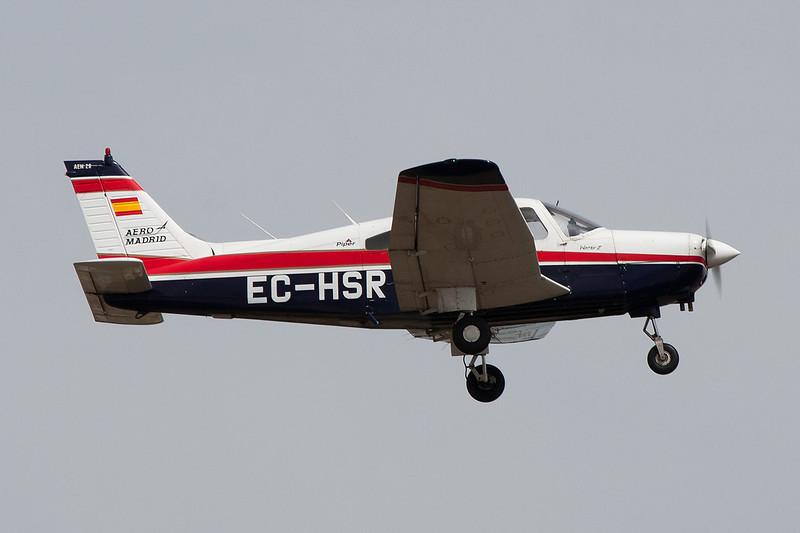 EC-HSR Piper PA-28-161 Warrior II c/n 28-8016286 Cuatro Vientos/LECU 06-04-08