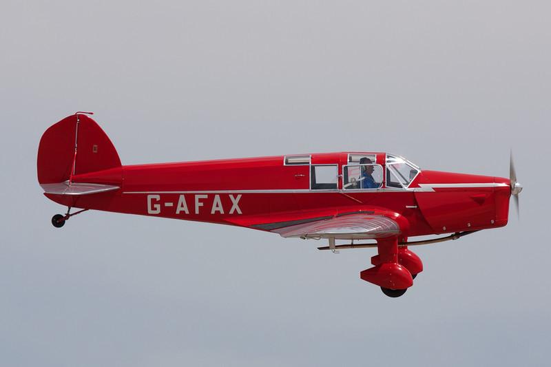 G-AFAX B.A.Eagle II c/n 138 Cuatro Vientos/LECU 06-04-08