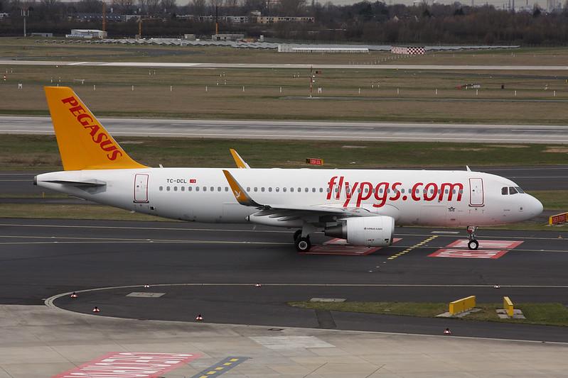 TC-DCL Airbus A320-214 c/n 7145 Dusseldorf/EDDL/DUS 03-03-17