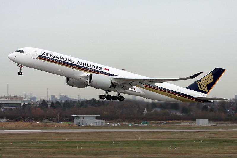 9V-SMJ Airbus A350-941 c/n 081 Dusseldorf/EDDL/DUS 03-03-17